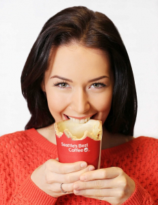 Taza comestible de KFC!!