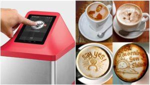 Ripple Maker, Arte en una taza de Café