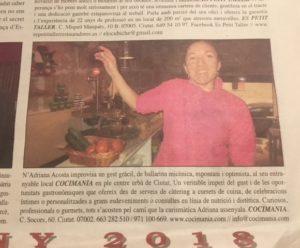 Cocimania en el periódico L'estel